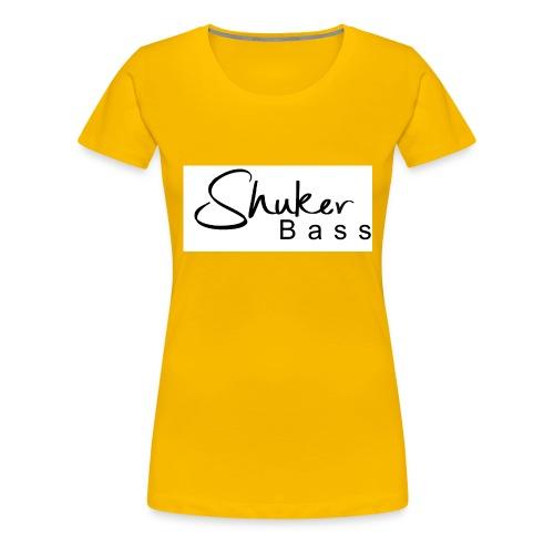 shukerscriptlogo - Women's Premium T-Shirt
