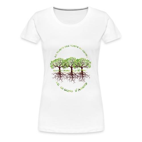 T-shirt les temps du corps, Lembrun 2016/Qi Gong - T-shirt Premium Femme