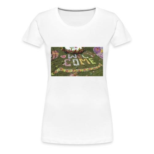 welcome - Women's Premium T-Shirt