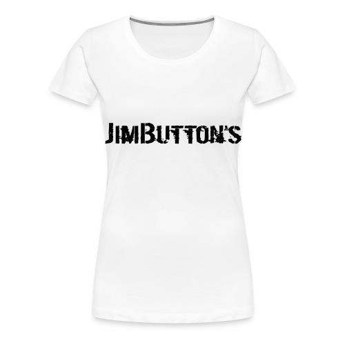 JimButton's girly pinky - Frauen Premium T-Shirt