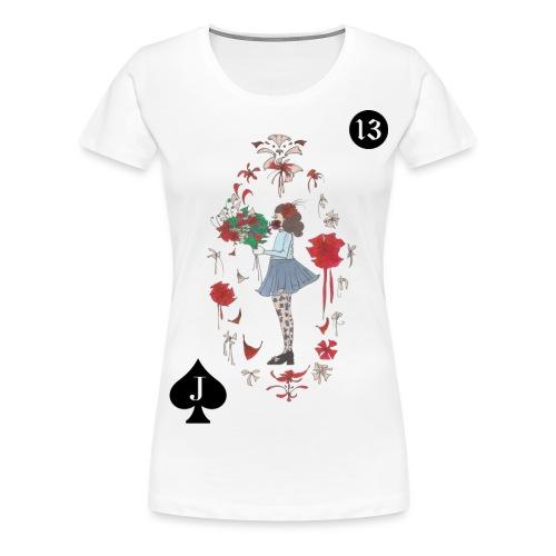 KIND IM BLOOMING LENORMAND | 13 für Neuanfänge - Frauen Premium T-Shirt