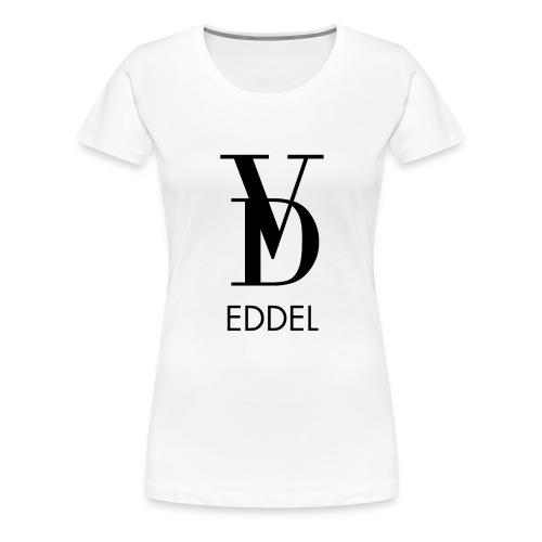 VOLL DER EDDEL LOGO - Frauen Premium T-Shirt
