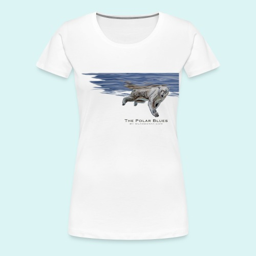 Polar-Blues-SpSh - Women's Premium T-Shirt