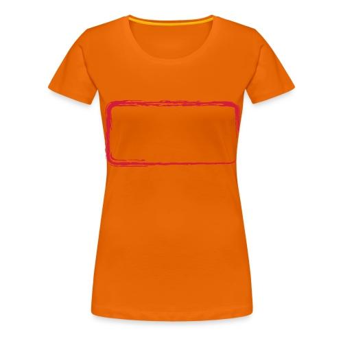Rahmen_01 - Frauen Premium T-Shirt