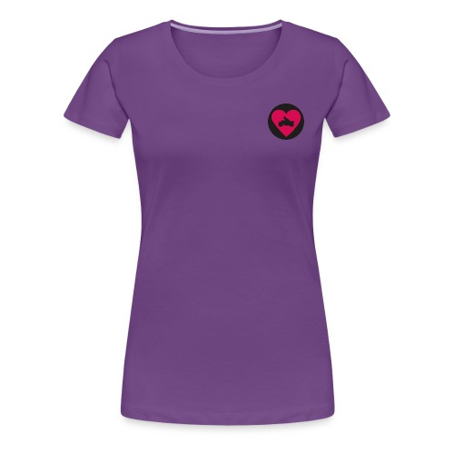 hås png - Premium-T-shirt dam