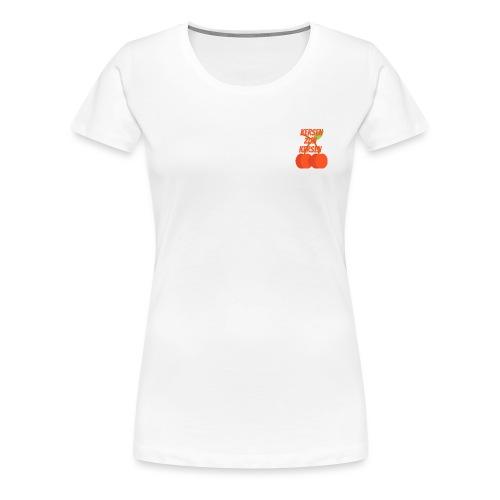 Kersen Zijn Kersen - Vrouwen Premium T-shirt