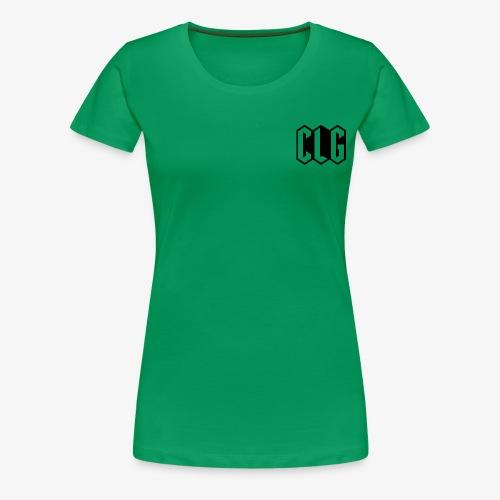 CLG DESIGN black - T-shirt Premium Femme