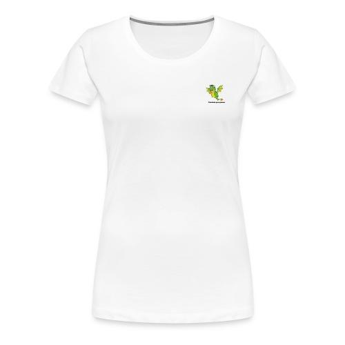 Cuidado que quemo - Camiseta premium mujer