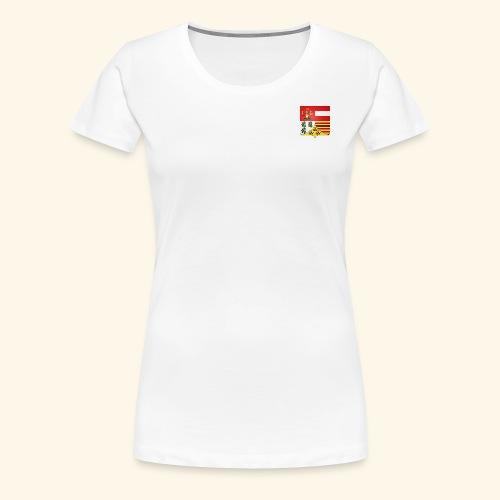 Blason ville de Liege - T-shirt Premium Femme