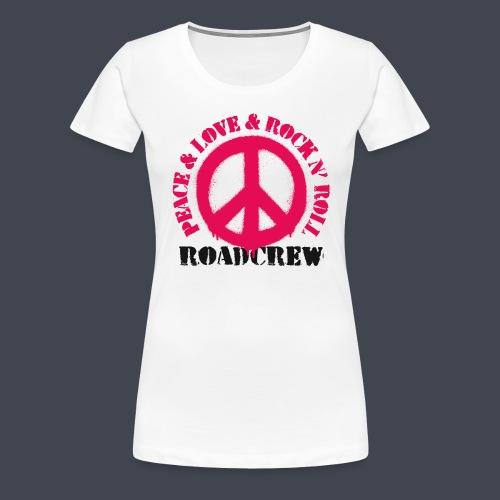 peace-love-rocknroll-rc - Frauen Premium T-Shirt