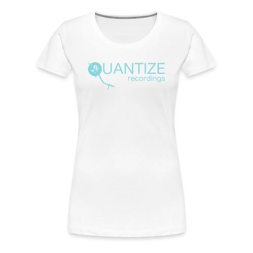 Quantize Blue Logo - Women's Premium T-Shirt