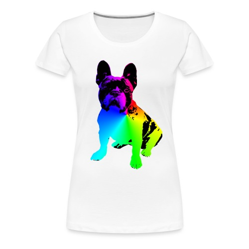 Französische BULLDOGGE french bulldog bully - Frauen Premium T-Shirt