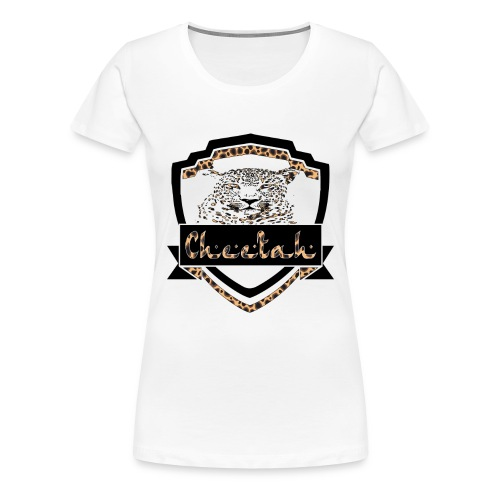 Cheetah Shield - Women's Premium T-Shirt