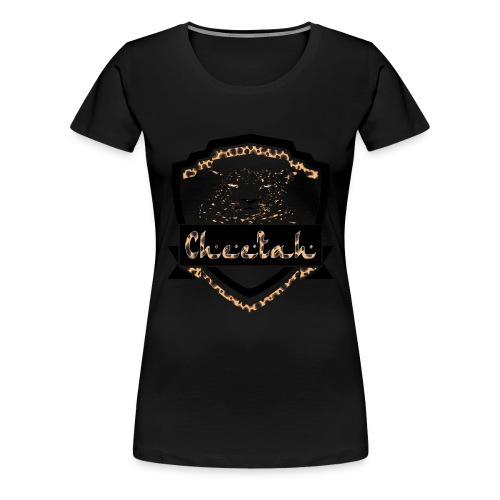 Cheetah Shield - Women's Premium T-Shirt