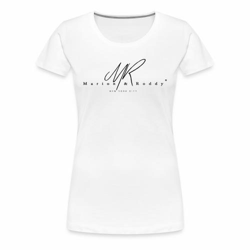 marion roddynyc black - T-shirt Premium Femme