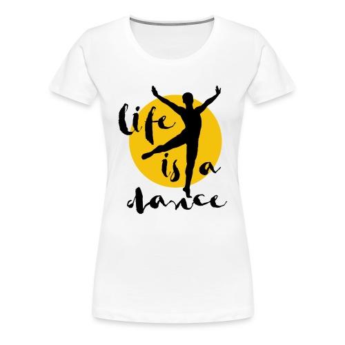 Ballett Tänzer - Frauen Premium T-Shirt