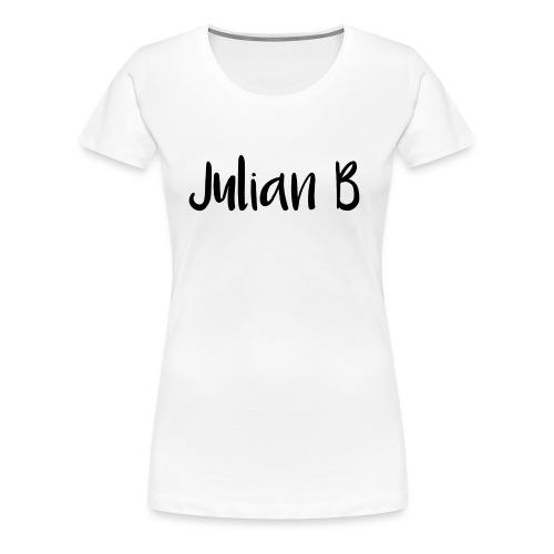Julian-B-Merch - Premium T-skjorte for kvinner