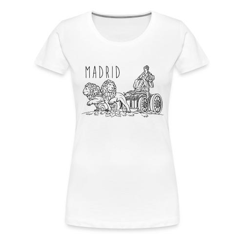 CIBELES NEGRO - Camiseta premium mujer