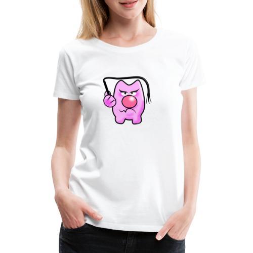 Peitschen Schwein - Frauen Premium T-Shirt