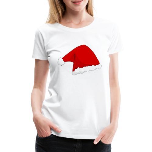 santas hat - Frauen Premium T-Shirt