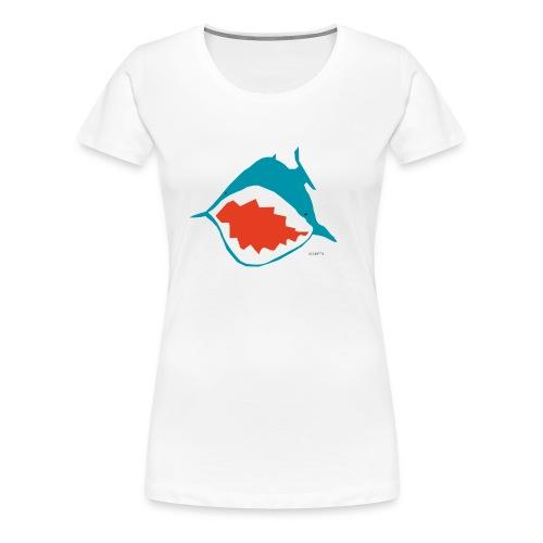 accaeffe's shark - Maglietta Premium da donna
