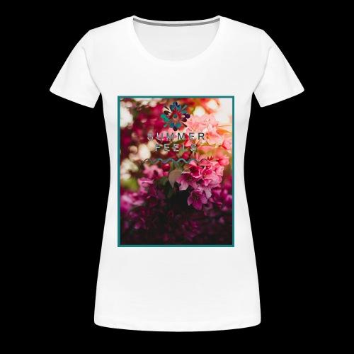 Summer Feels - Women's Premium T-Shirt