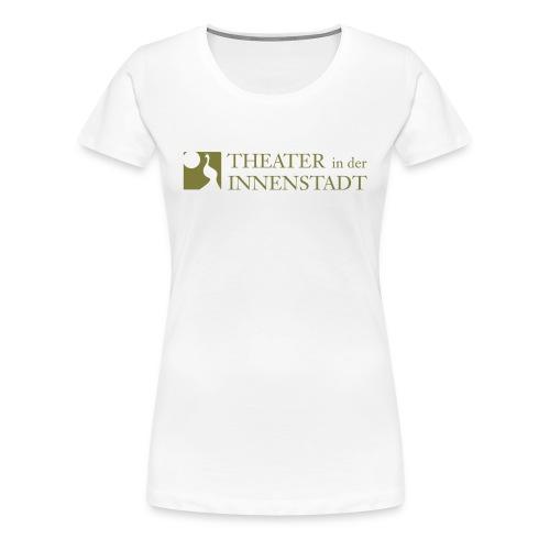 Theater In der Innenstadt Logo - Frauen Premium T-Shirt