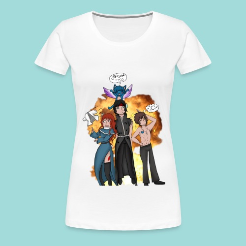 Commission - Fairy Tail - Women's Premium T-Shirt