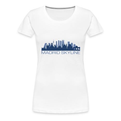 MADRIDSKYLINE - Camiseta premium mujer