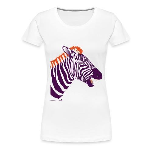 No zebra-future - T-shirt Premium Femme