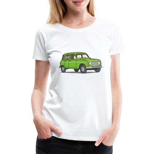 Grüner R4 (Auto) - Frauen Premium T-Shirt