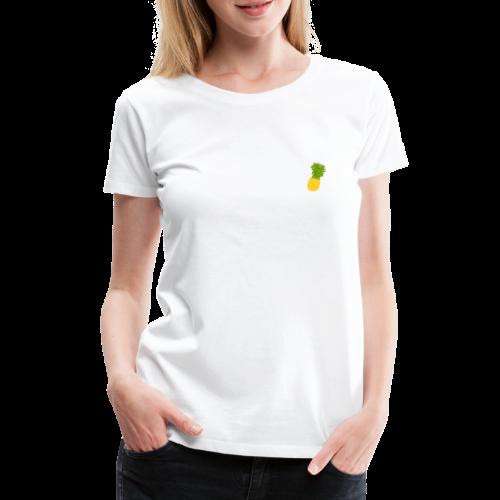 Ananas - Zeichnung - Frauen Premium T-Shirt