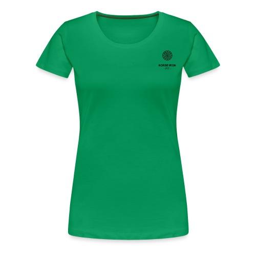 Norse Iron - Fit - - T-shirt Premium Femme