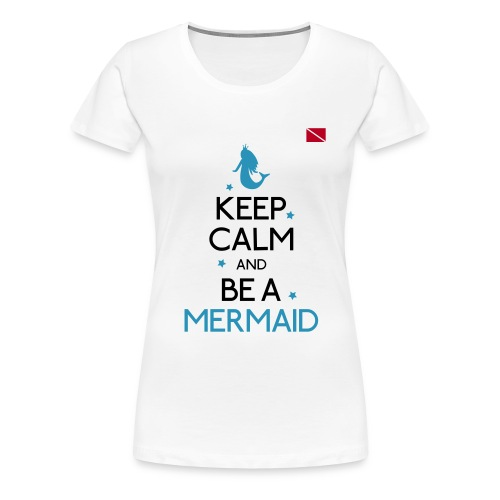 Diver Flag - Women's Premium T-Shirt