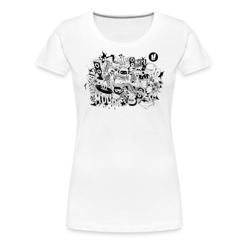 TSHIRT SF01 DEF png - Women's Premium T-Shirt