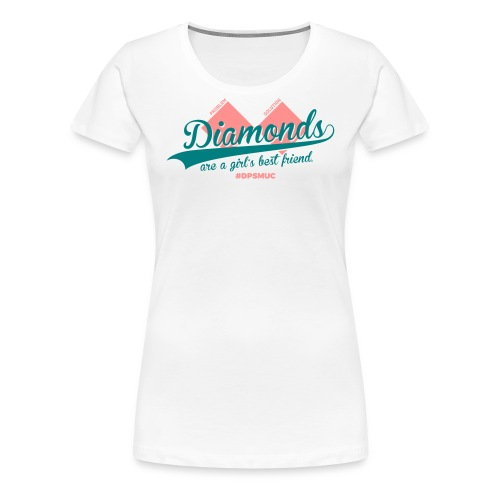 Double Diamond - Frauen Premium T-Shirt
