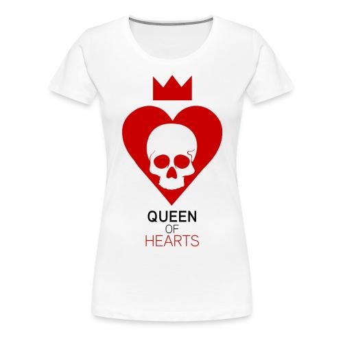 Tee shirt manches longues Reine des Coeurs - T-shirt Premium Femme