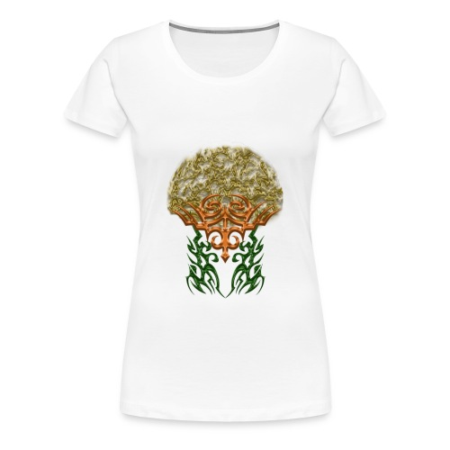 Golden Brain - Frauen Premium T-Shirt