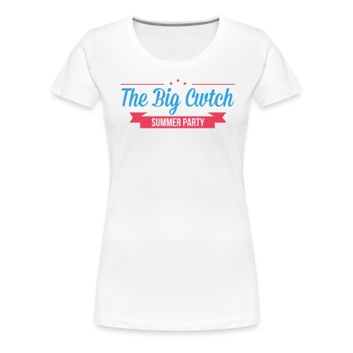 BigCwtch1LogoNoBackground - Women's Premium T-Shirt