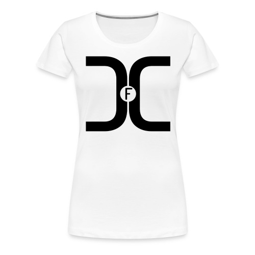 t-shirt_fdc_black_PNG - Women's Premium T-Shirt