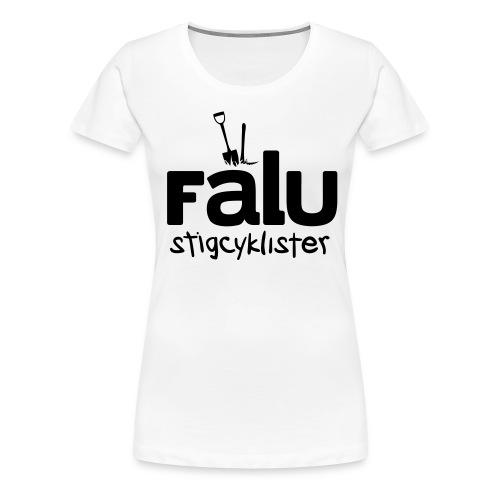 Falu Stigcyklister Blå - Premium-T-shirt dam