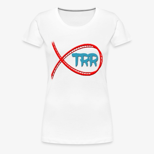 trr logo proper - Women's Premium T-Shirt