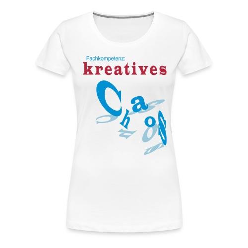 kreatives Chaos - Frauen Premium T-Shirt