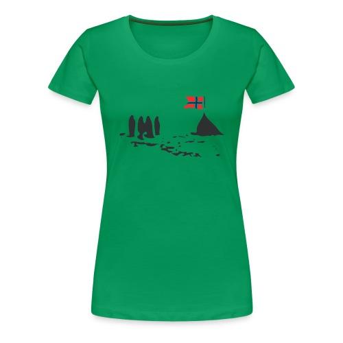 amundsen png - Women's Premium T-Shirt