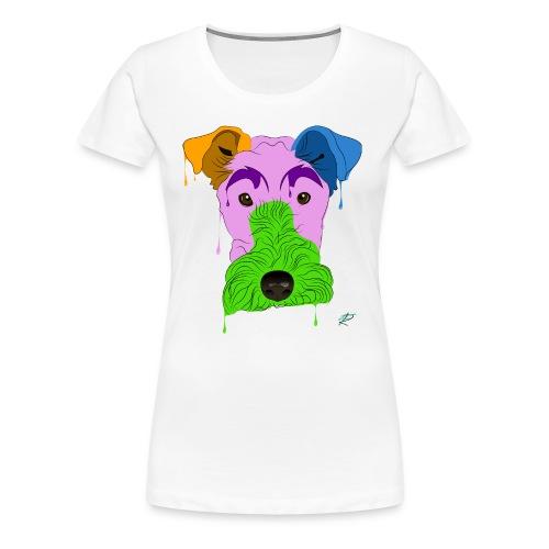 Fox Terrier - Maglietta Premium da donna