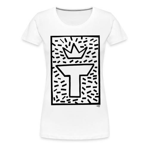 Logo MJT Manu - T-shirt Premium Femme