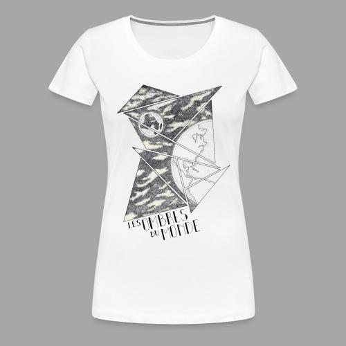 Ombres du monde - La valse à mille points - T-shirt Premium Femme