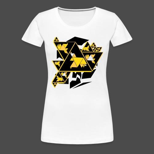 Triangle Art - Women's Premium T-Shirt