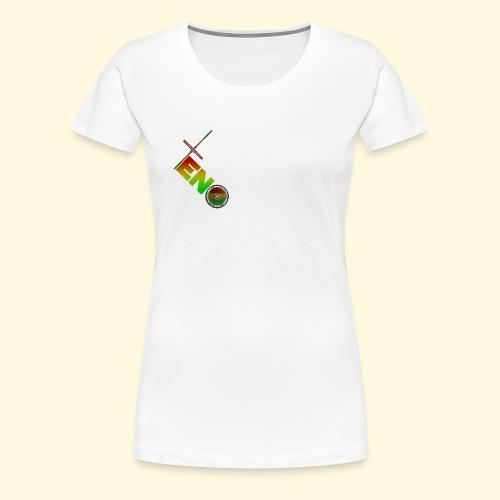 Scooter Logo - Rasta - Women's Premium T-Shirt