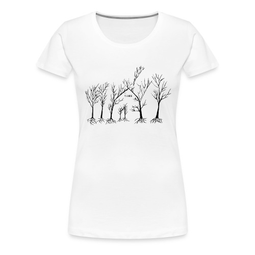 Home In The Woods - Dame premium T-shirt